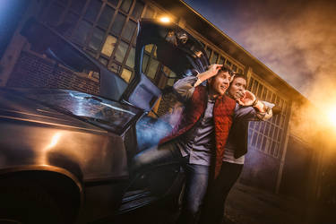 Back to future by Torsten-Hufsky
