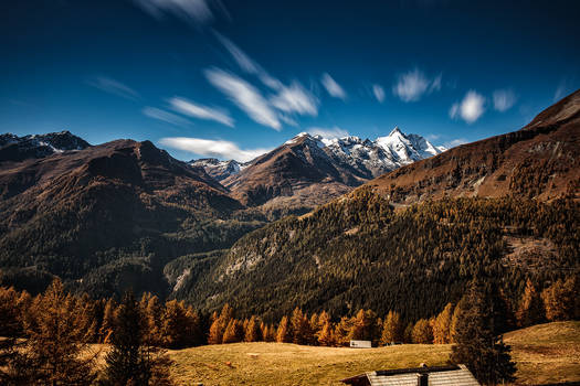 Grossglockner in autumn