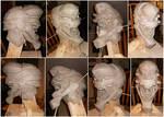 Eva Unit 02 Sculpture