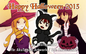 Halloween 2013 (prev) by AkuTenshi27