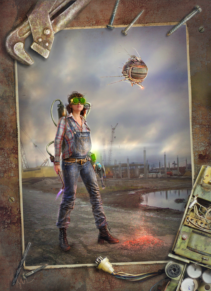 Wasteland engineer Fallout 3 by inSOLense on DeviantArt