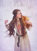 Slavic girl by inSOLense