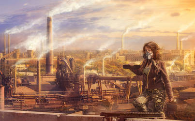 The post apocalyptic_ pollutions