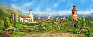 Medieval village1_day
