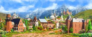 Medieval village2_day
