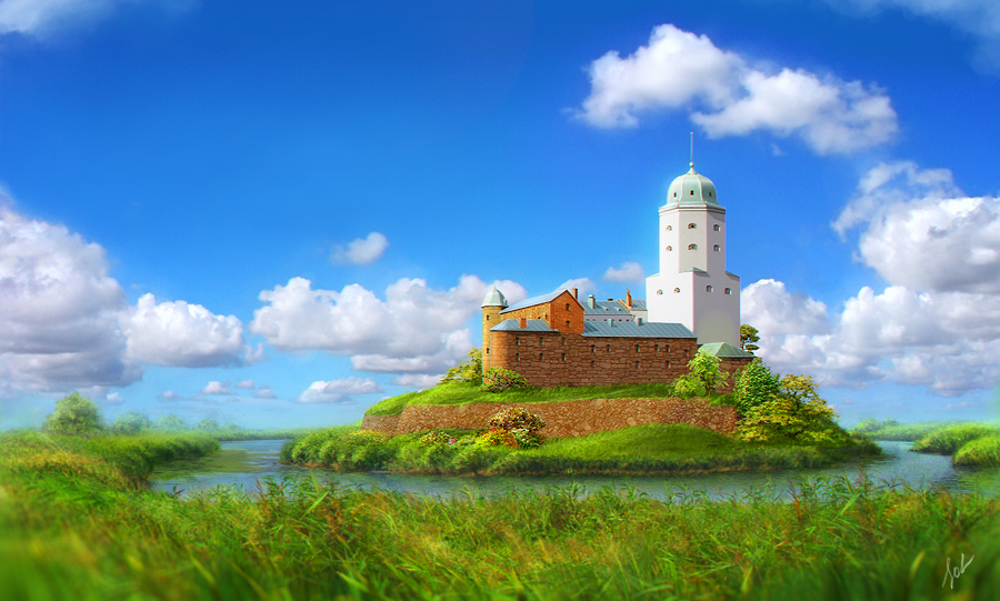 Vyborg Russia  City new picture : Vyborg Russia's historic city by inSOLense on DeviantArt