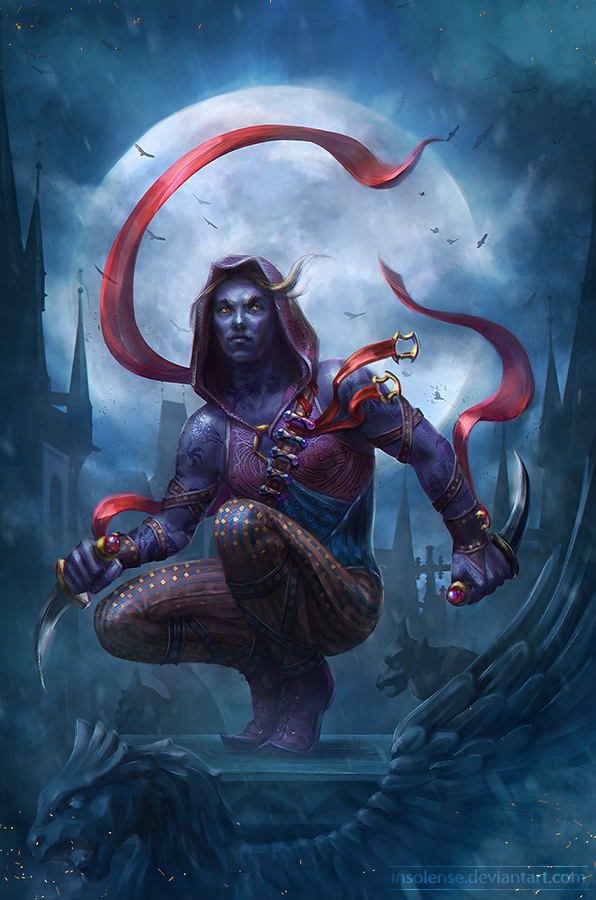 Drow by inSOLense