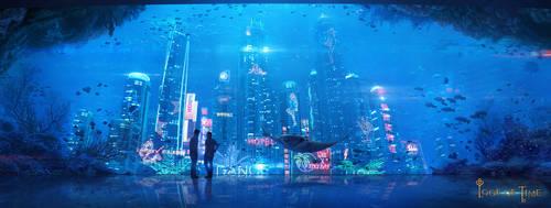 Underwater city by inSOLense