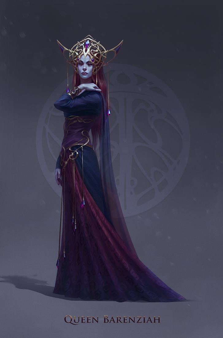 Queen Barenziah by inSOLense