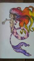 mermaid in progress.
