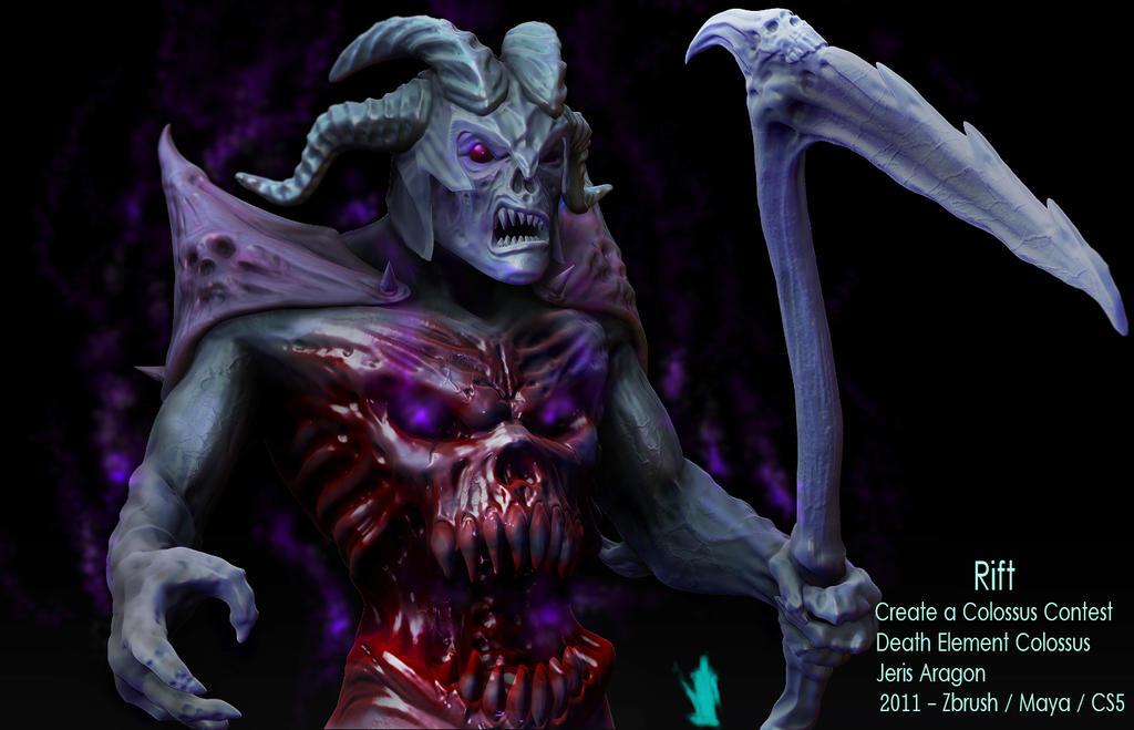 Rift Death Element Colossus v2 by Jeris82