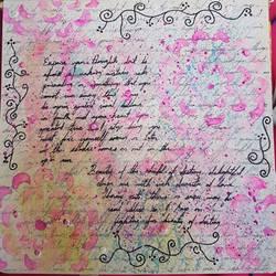 Art Project: Art Journaling #3