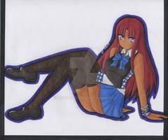 Sketchbook Art: Ijiserure Garnet #2