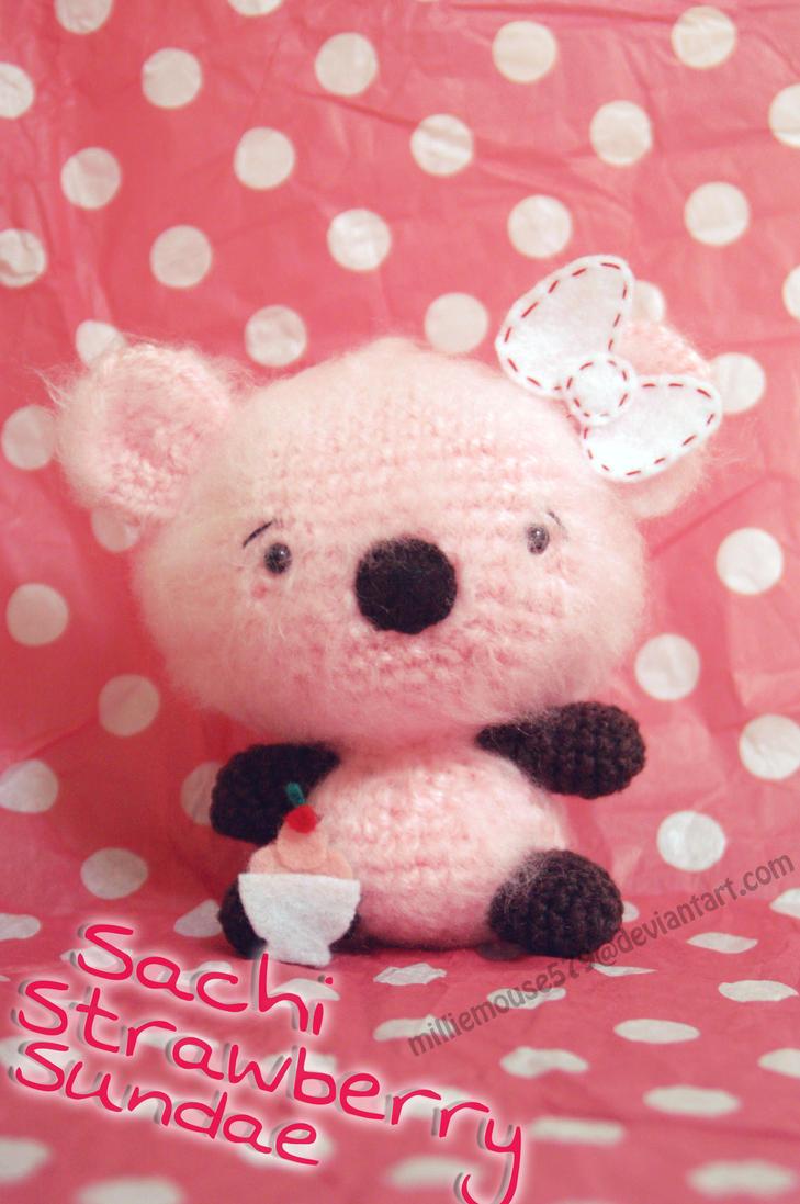 Amigurumi Beard : Sachi Amigurumi Bear by milliemouse579 on deviantART
