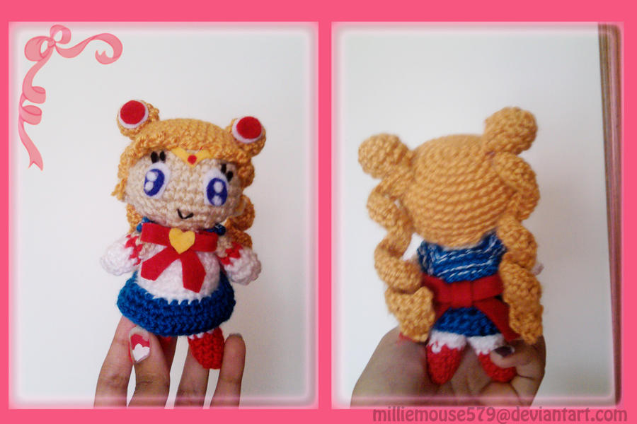 Amigurumi Sailor Moon : Sailor Moon - Amigurumi Style by milliemouse579 on DeviantArt