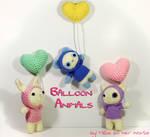 Hooded Balloon Animals - Amigurumi Pattern
