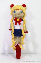Champion of Love and Justice: Sailor Moon Amigurum