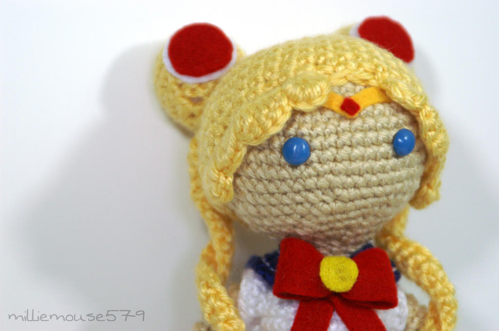Amigurumi Sailor Moon : Sailor Moon Amigurumi by milliemouse579 on DeviantArt