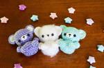 Tiny Tot Amigurumi Bears
