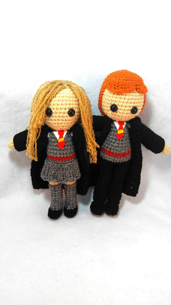 Ron and Hermoine by milliemouse579