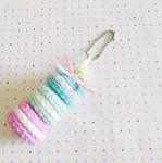 Mini Macaroon Keyghain (Free pattern)