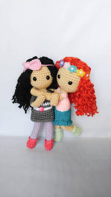 Curly Me Dolls