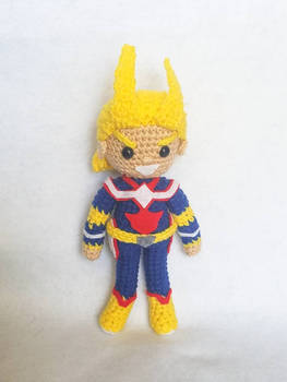 All Might Amigurumi Doll