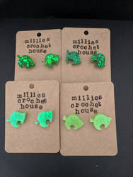Animal Crossing Leaf Earrings