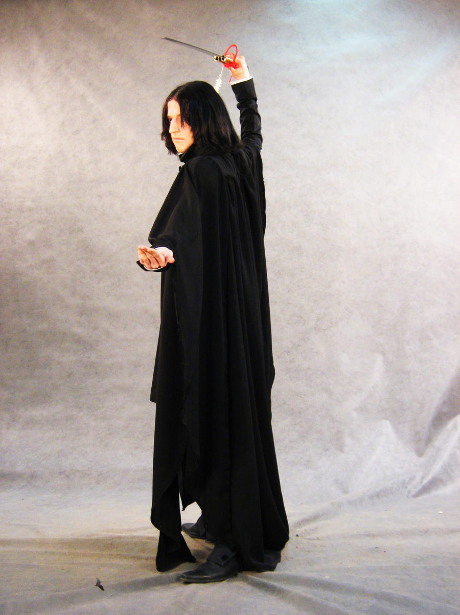 Severus Snape cosplay by cibo-nasu