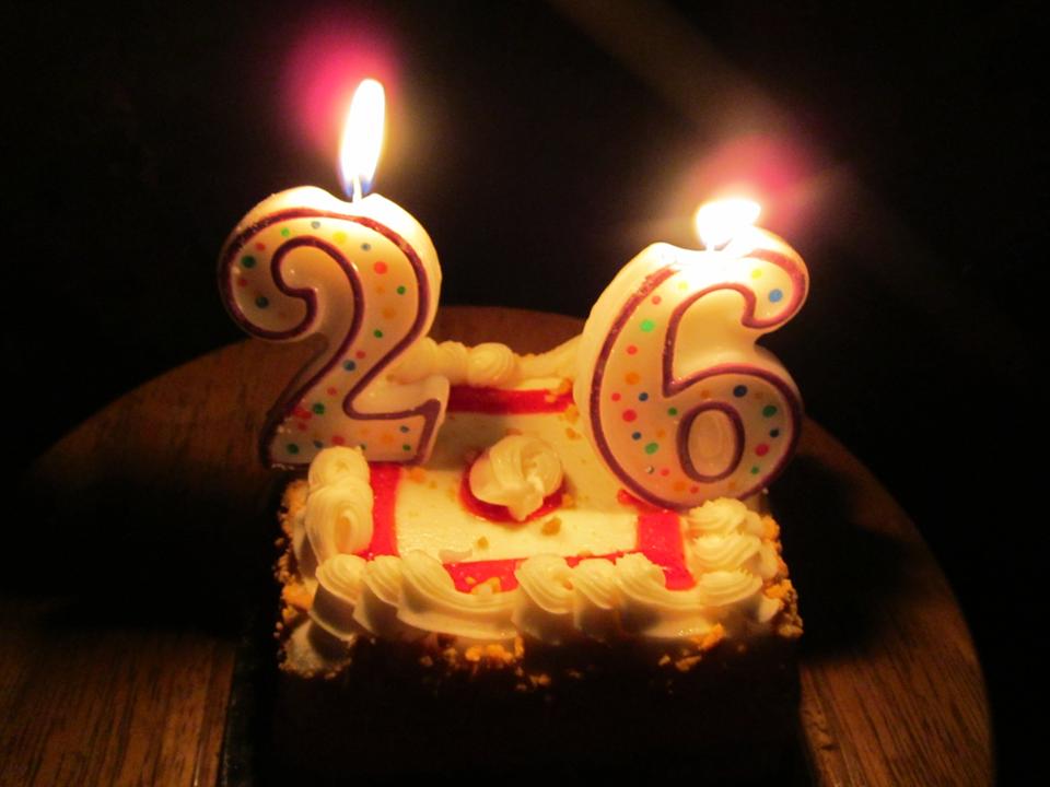 26 лет поздравления парню 40