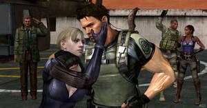 Wesker is dead, Jill is safe. Mission acomplished