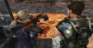 Rest in..pieces Wesker !