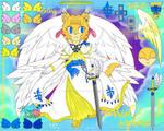 Gabriel Ophari xXArchangel ReferenceXx by PrincessShadyk