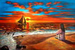 Sunset Version 2 by PINCELdeDALI