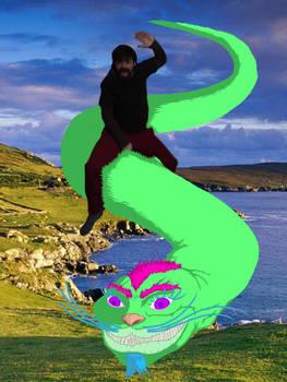 Cadjin over Ireland.