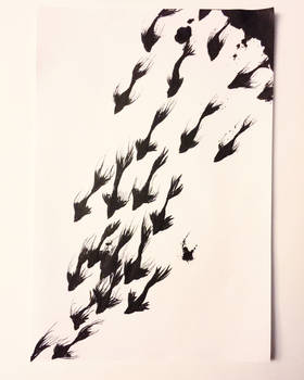 Inky fishy