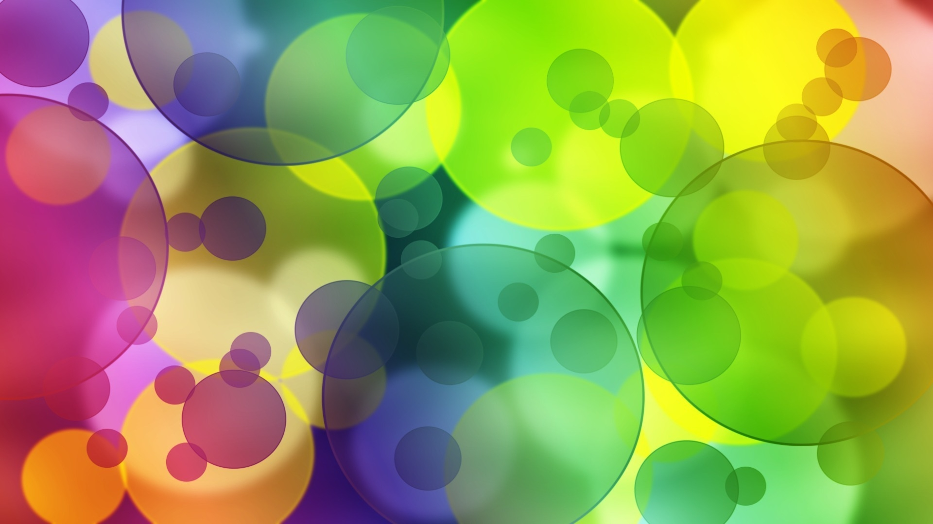 rainbow bubbles colorful - photo #14