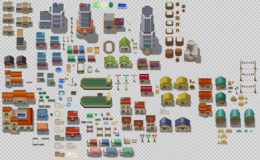 Rpg Maker Vx Custom Tileset: Custom Tileset By BoOmxBiG On DeviantArt