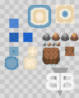 BW Water Tiles by BoOmxBiG