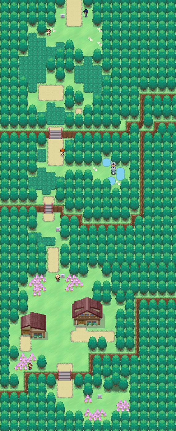Starter Town, Route 1