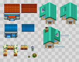 Custom Tileset #1 by BoOmxBiG