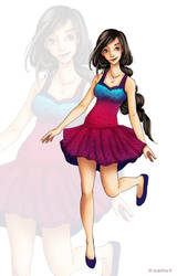 Girl color by Ccachou