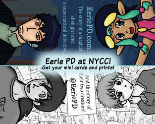 Eerie PD at NYCC! by Tozoku