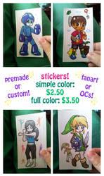 Nintendo E3 Stickers by Tozoku
