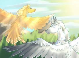 The Flight by magieijsje2