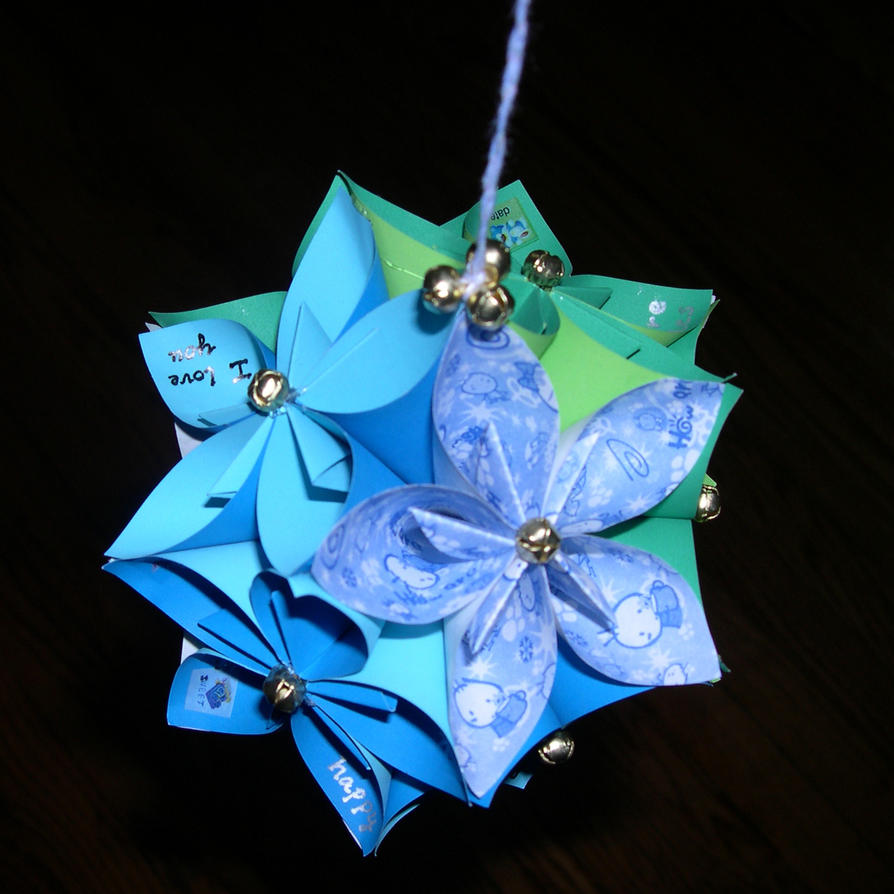 Flower Ball Origami By Zhuli On Deviantart