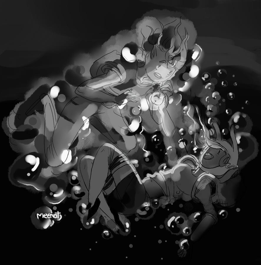 Light wont let us drown by Meenat