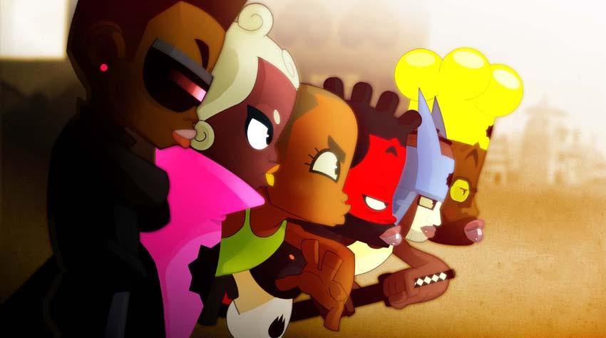 Afro rangers by ntamak