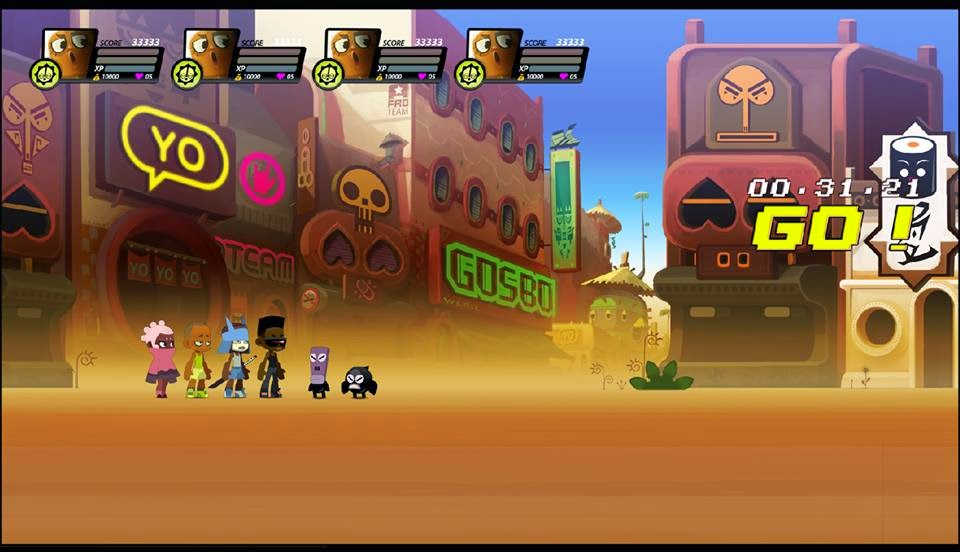 Afro Rangers In-game by ntamak