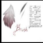 #01 Paint Tool Sai Brush - Long Fur Brush